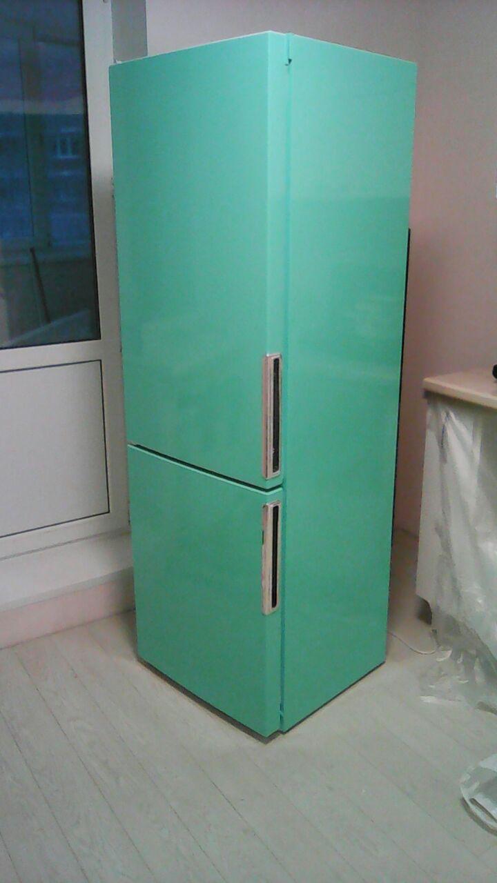 Какой пленкой обклеить холодильник